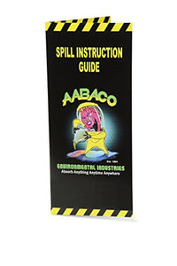 AABACO Universal Spill KIT – Perfect Spill Kits for Trucks - in Portable High Visibility Yellow Tote Bag –for Pesticide or Chemical Spill Response - Oil Containment (1 Kit)