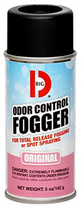 Big D 5 oz Odor Control Fogger Aerosol (12 Pack)