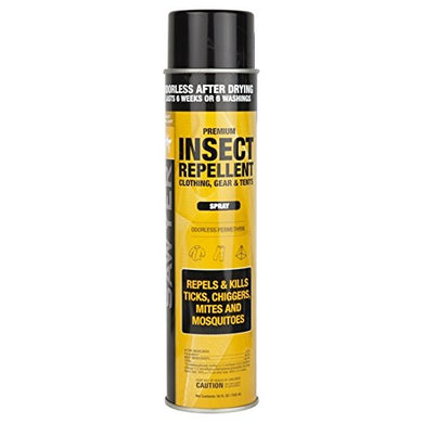 Sawyer Products SP618 Premium Permethrin Clothing Insect Repellent, Aerosol Spray, 18 oz.