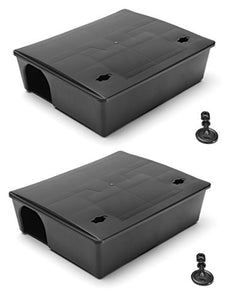Vectortrap Compact Rat Bait Station Twin Pack