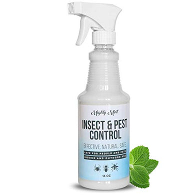 Mighty Mint Insect and Pest Control Peppermint Oil, All Natural Spray (16 oz)