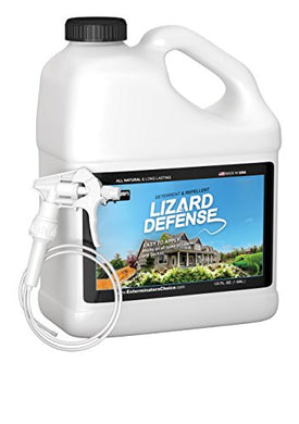 Lizard Defense Natural Repellent and Deterrent (1 Gallon)