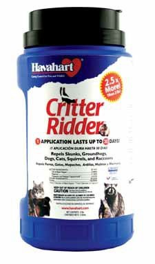 Havahart Critter Ridder Animal Repellent, 5 Pound Granular Shaker