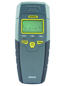 Digital LCD Moisture Meter, Pin Type, General Tools MMD4E