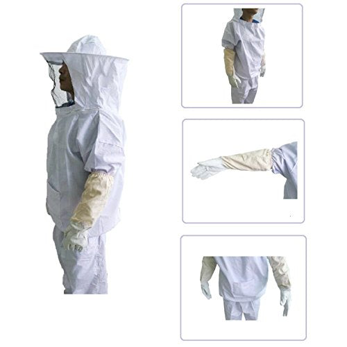 Xgunion Professional Beekeeper Suit (Jacket, Pants, Gloves)