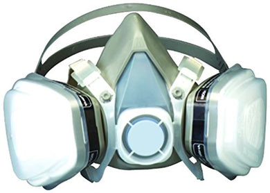 3M Dual Cartridge Half-Face Respirator (Large)