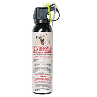 Frontiersman Bear Spray - Maximum Strength & Maximum Range - 35 Feet (9.2 oz)