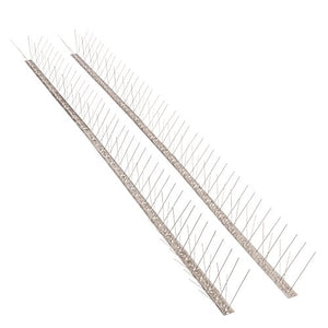 Bird Blinder Stainless Steel Bird Spikes for Pigeons and Small Birds (11 Ft)