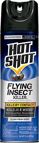 Hot Shot Flying Insect Killer3 (Pack of 6 x 15oz. Cans)