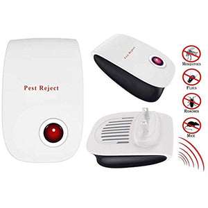 POP VIEW Pest & Rodent Repeller Plug in, 4PACK, White