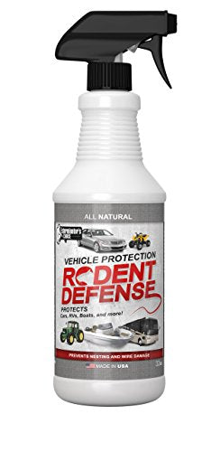 Exterminators Choice Vehicle Engine Wiring Protection, Prevents Chewing & Nesting by Rats, Mice, and Squirrels
