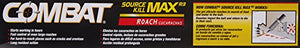 Combat Source Kill Max Roach Killing Gel Bait, 60 Grams