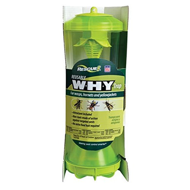 RESCUE! Reusable Trap for Wasps, Hornets and Yellowjackets