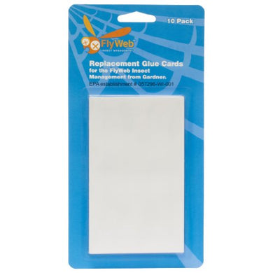 Fly Web Glue Board Replacement (10 Pack)