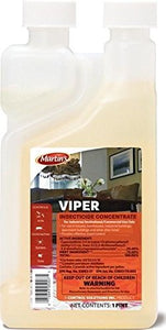 Viper Insecticide Concentrate, Cypermethrin 25.4% (16 oz)