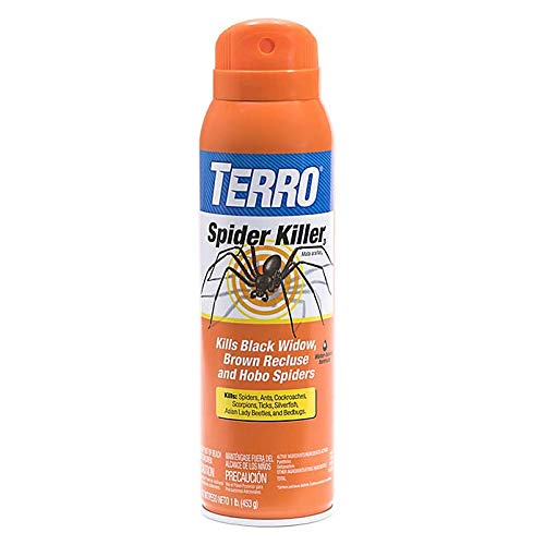 TERRO T2302 Spider Killer Spray, 2 Pack