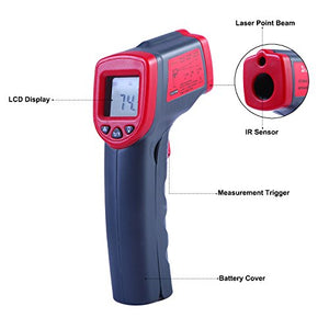 HDE Infrared Digital Thermometer Gun