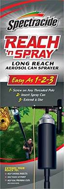Spectracide Reach 'n Spray Long Reach Aerosol Pest Control Spray Can