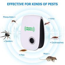 Load image into Gallery viewer, VEPOWER Ultrasonic Electronic Insect & Rodent Repellent (6 Pack)