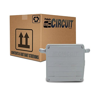 Protecta EVO Circuit Rat Bait Station (6 Stations, Gray)