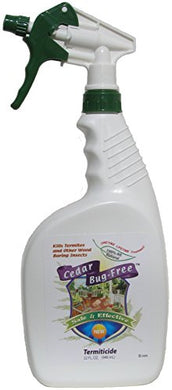 Cedar Bug-Free All Natural Termiticide (32 oz. Spray Bottle)
