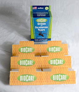 BioCare Spider and Silverfish Sticky Traps, 6 Count