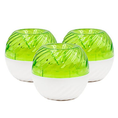 FlyFix Reusable Fruit Fly Trap (3 Green Traps)