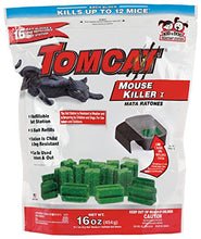 Load image into Gallery viewer, Tomcat Mouse Killer Refillable Mouse Bait Station with 16 Bait Blocks