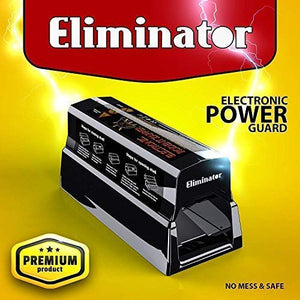Eliminator Electronic Rodent Trap, Kills Mice, Rats, Chipmunks and Squirrels Without Poison