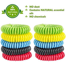 Load image into Gallery viewer, Mosquito Repellent Bracelet,100% Natural Non-Toxic (24 Pack)