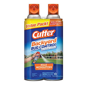 Cutter Backyard Bug Control Outdoor Fogger (16 oz. Cans, 2 Pack)