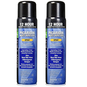 Sawyer Products SP5762 Premium Insect Repellent with 20% Picaridin, Spray, Twin Pack, 6-Ounce