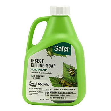 Safer Brand 5118 Insect Killing Soap Concentrate (16 Oz.)