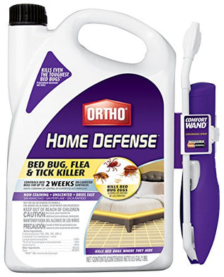 Ortho Home Defense Max Bed Bug, Flea and Tick Killer 0.5 Gal/1.89L