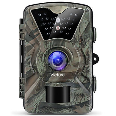 Victure Rodent & Wildlife Camera, 1080P 12MP, Motion Activated Night Vision, Waterproof