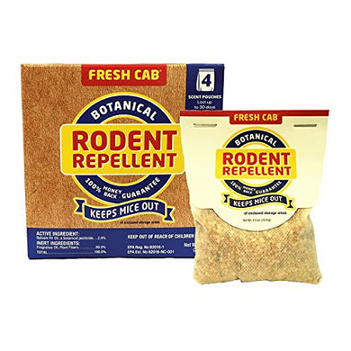 Fresh Cab Natural Rodent Repellent (16 Scent Pouches)