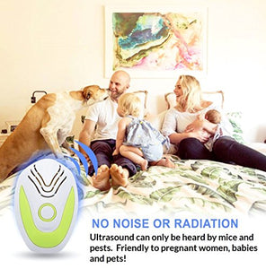 Kantora Ultrasonic Rat & Insect Plug-in Repellent (6-Pack)