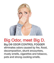 Load image into Gallery viewer, Big D 5 oz Odor Control Fogger Aerosol (12 Pack)