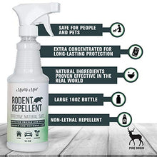 Load image into Gallery viewer, Mighty Mint Peppermint Oil Rodent Repellent Spray (16 oz)