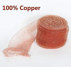 "Copper Mesh Pest & Rodent Blocker 5"" x 100'"