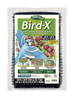 Bird-X Protective Netting 28' x 28' (1 Pack)