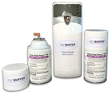 BirdBuffer Timed Release Bird Repellant