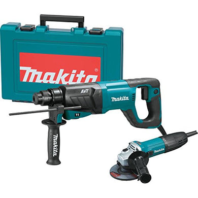 Makita HR2641X1 SDS-PLUS 3-Mode Variable Speed AVT Rotary Hammer with Case and 4-1/2
