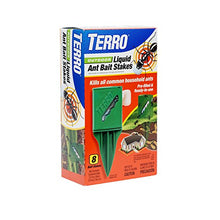Load image into Gallery viewer, TERRO T1812 Outdoor Liquid Ant Killer Bait Stakes (8 Count)