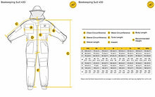 Load image into Gallery viewer, Humble Bee 430 Vented Beekeeping Suit with Round Veil