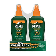 Load image into Gallery viewer, Repel Insect Repellent Sportsmen Max Formula Spray Pump 40% DEET, 2/6-Ounce