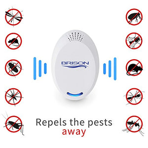 Ultrasonic Pest Repeller Portable Plug-in (4-Pack)