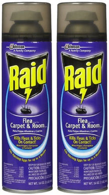 Raid Flea Killer Plus, Carpet & Room Spray (16 oz-2 pk)