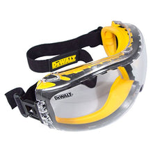 Load image into Gallery viewer, DEWALT Concealer Clear Anti-Fog Safety Goggle
