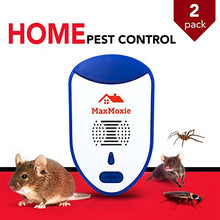 Load image into Gallery viewer, MaxMoxie Ultrasonic Pest & Rodent Repeller